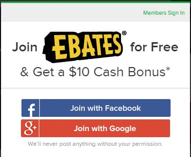 Ebates Join Now