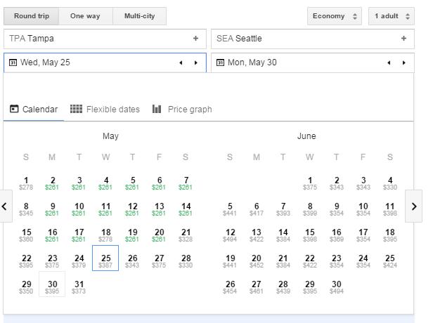 Google Flights 4
