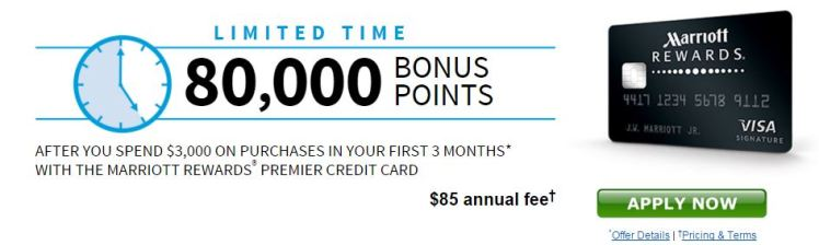 Marriott rewards Visa - AYP