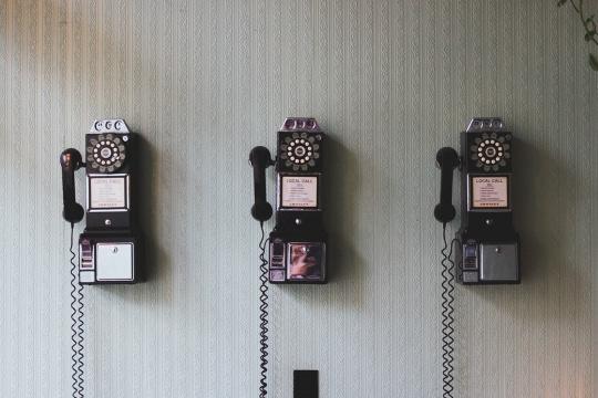 Old School Telephone - AYP Post