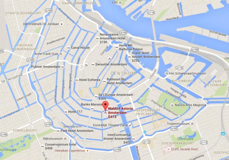 Waldorf Ams - Google Maps - AYP