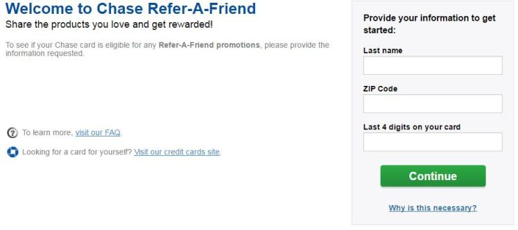 Chase Refer a friend - AYP