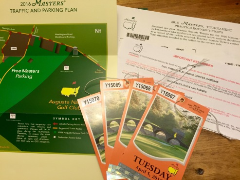 Masters Tickets - AYP