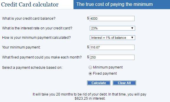 250 per month 23% - AYP