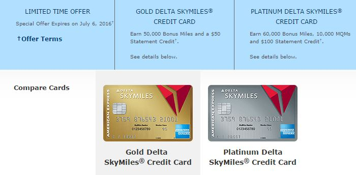 Delta Cards Increased Offers - AYP