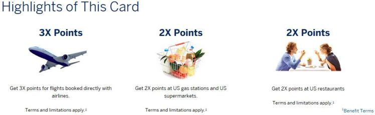 Travel Catagories - AMEX PRG