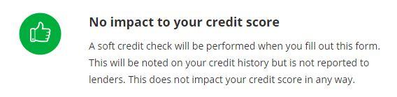 No Credit impact