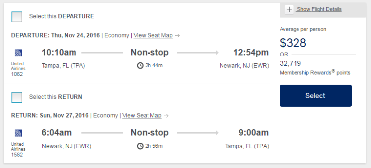 american-express-travel-search-results-tpa-ewr-united